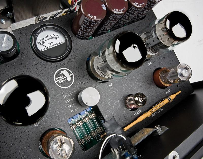 Röhrenverstärker Rogue Audio Ninety Nine, Rogue Audio Stereo 90 im Test , Bild 2