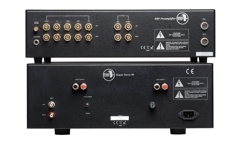 Röhrenverstärker Rogue Audio Ninety Nine, Rogue Audio Stereo 90 im Test , Bild 8