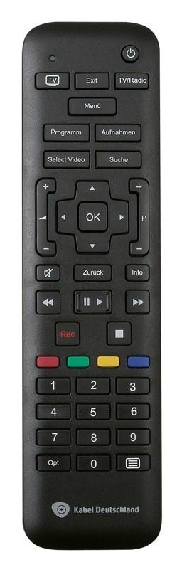 Kabel Receiver mit Festplatte Sagemcom RCI88-320KDG im Test, Bild 2