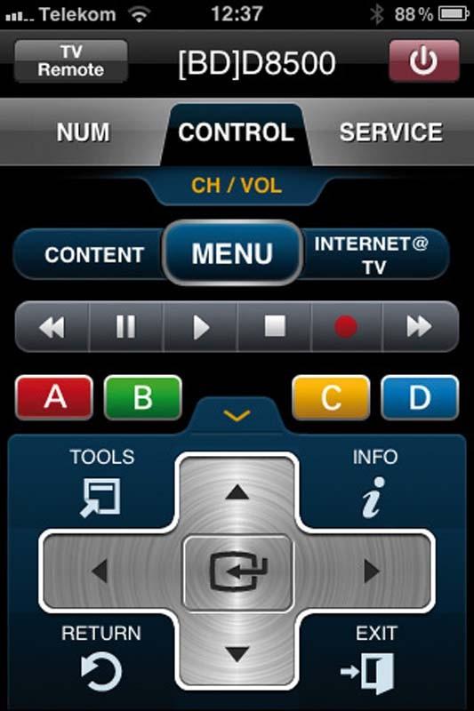 Blu-ray-Player Samsung BD-D8500 im Test, Bild 2