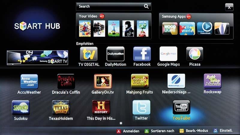 Blu-ray-Player Samsung BD-D8500 im Test, Bild 3