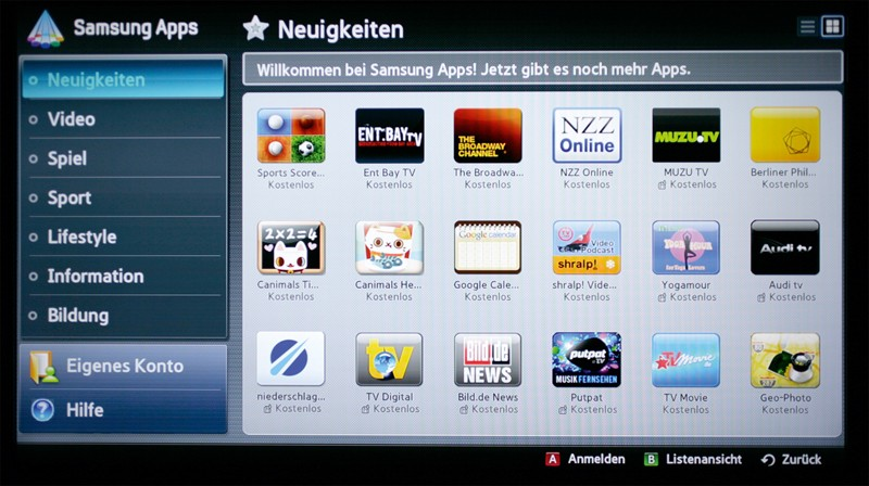 Blu-ray-Player Samsung BD-D8909S im Test, Bild 5