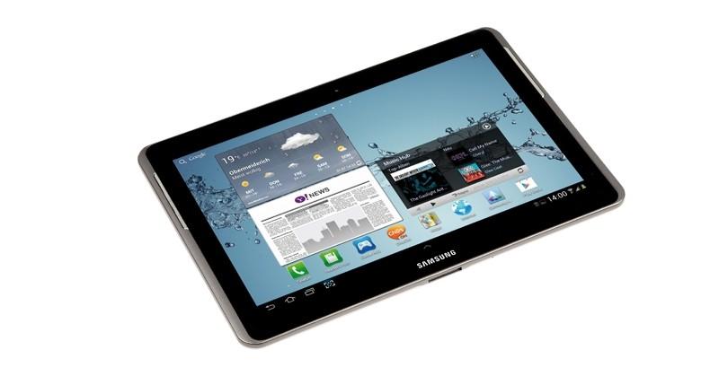 Tablets Samsung Galaxy Tab 2 10.0 im Test, Bild 8