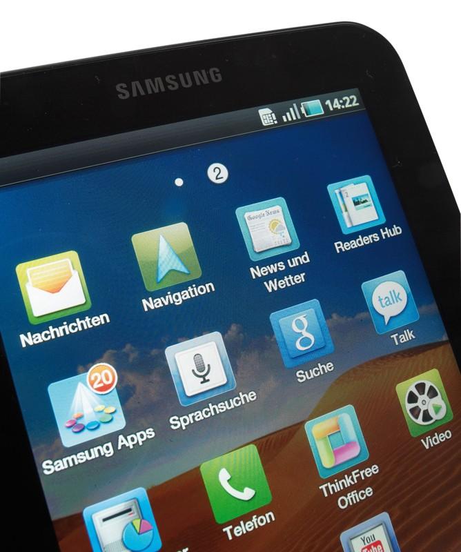 Tablets Samsung Galaxy Tab im Test, Bild 20