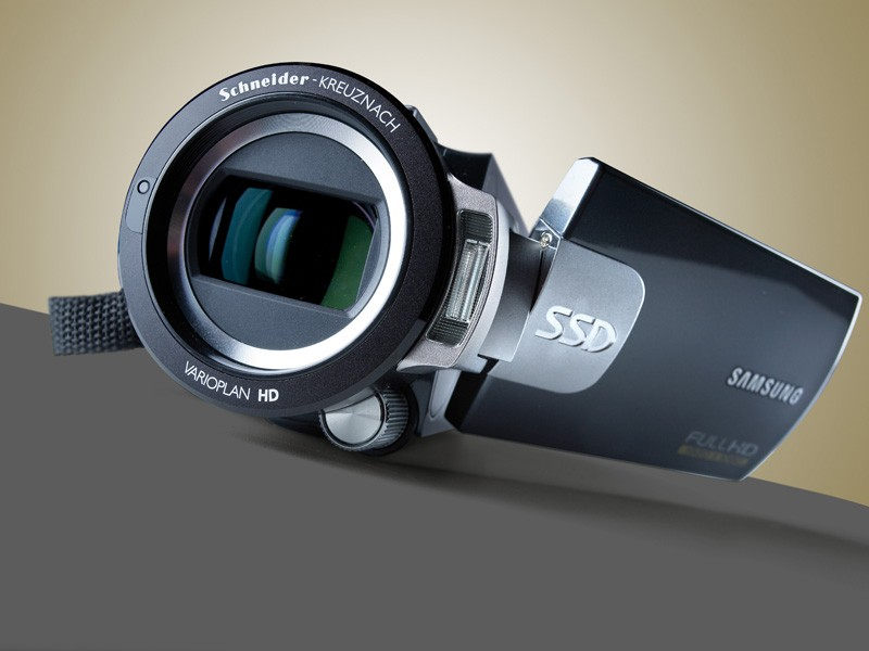 Test Camcorder - Samsung HMX-S15 - sehr gut