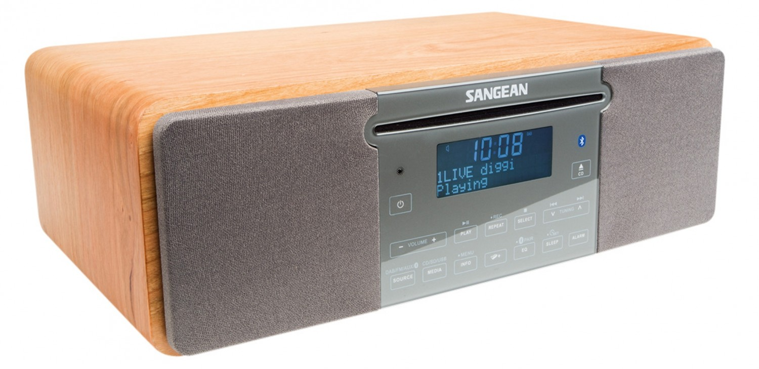 test dab radio sangean ddr 47bt sehr gut. Black Bedroom Furniture Sets. Home Design Ideas