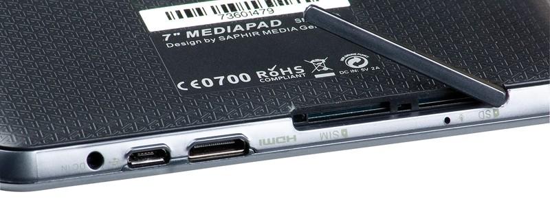 Tablets Saphir Media Pad SMT7 3G im Test, Bild 13