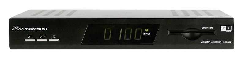 Sat Receiver ohne Festplatte Microelectronic M120HD+ im Test, Bild 2