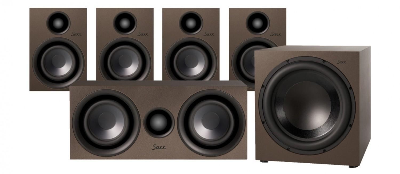Lautsprecher Surround Saxx curvedSound CR 5.1 im Test, Bild 3