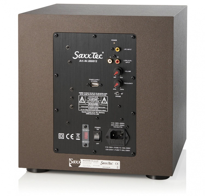 Lautsprecher Surround Saxx curvedSound CR 5.1 im Test, Bild 4