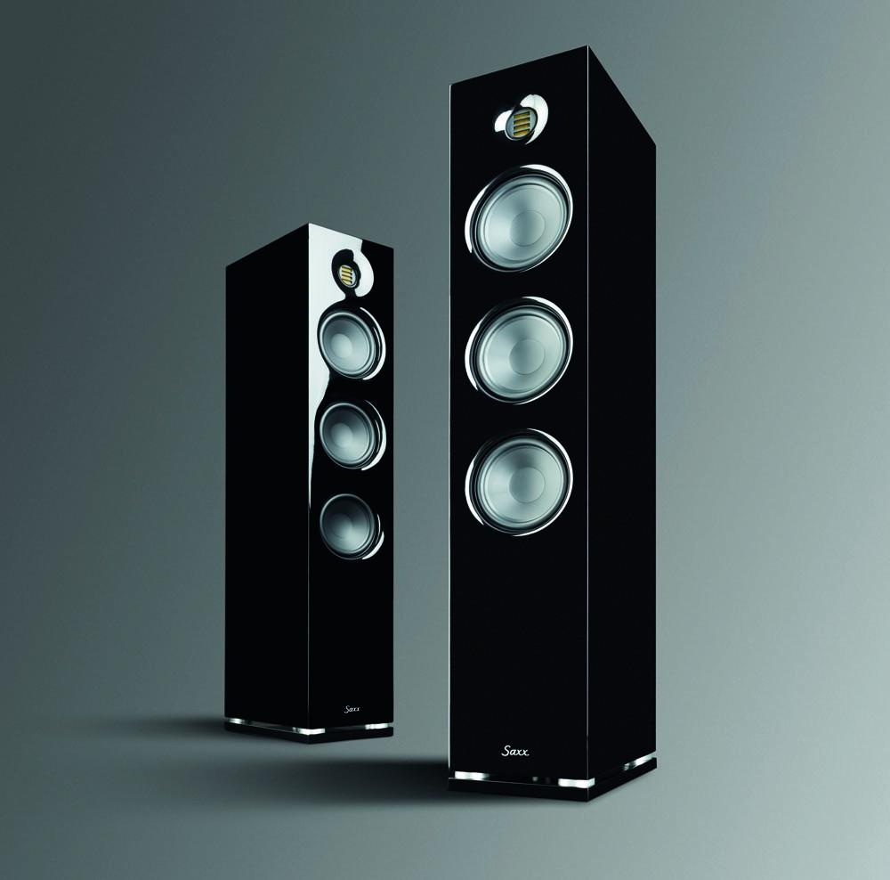 Lautsprecher Stereo Saxxtec CX90 im Test, Bild 1