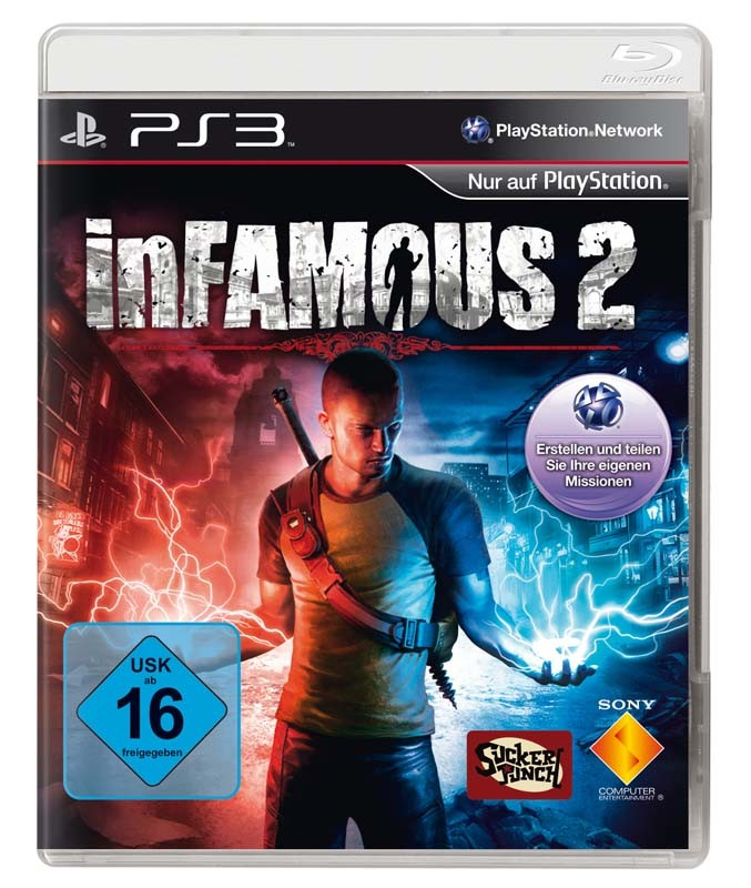 Games Playstation 3 SCEE InFamous 2 im Test, Bild 1