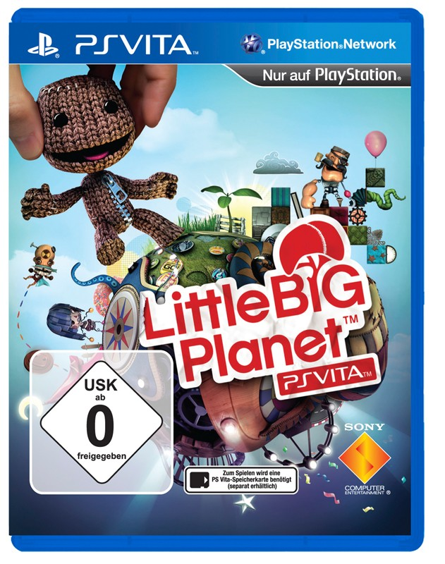 Games PS Vita SCEE Little Big Planet im Test, Bild 1