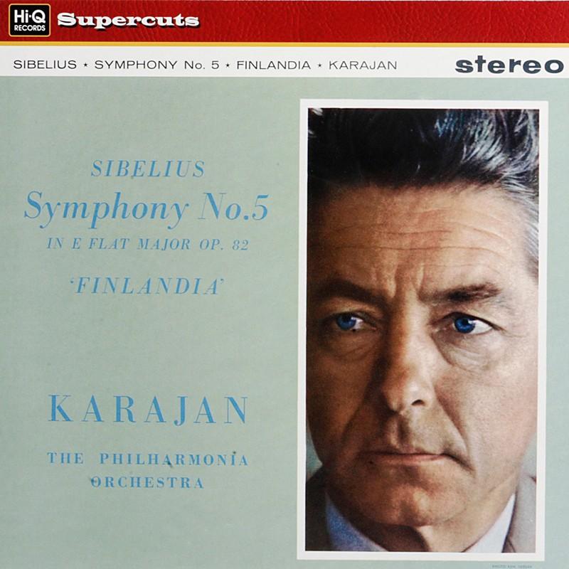 Jean Sibelius - Herbert Von Karajan - Violinkonzert - Finlandia - Tapiola
