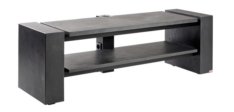 test hifi tv m bel schnepel x line 1400 echt schiefer. Black Bedroom Furniture Sets. Home Design Ideas
