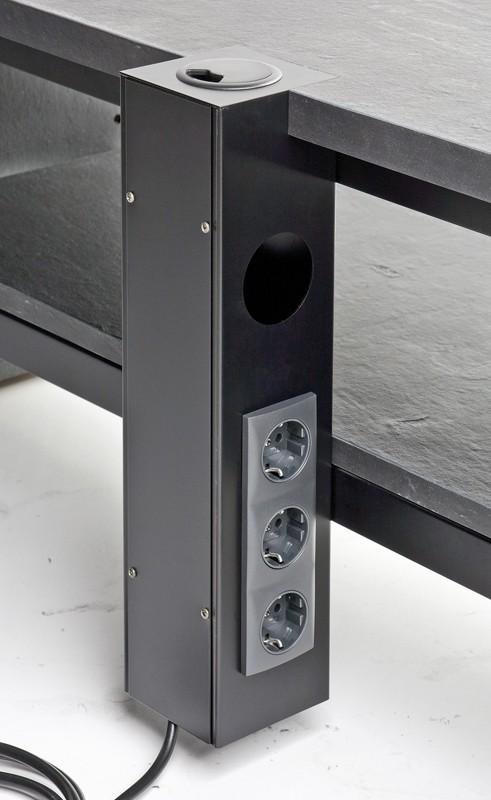 test hifi tv m bel schnepel x line 1400 echt schiefer sehr gut bildergalerie bild 2. Black Bedroom Furniture Sets. Home Design Ideas