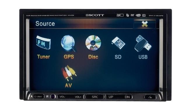 Naviceiver Scott DNX 2100 GPS im Test, Bild 3