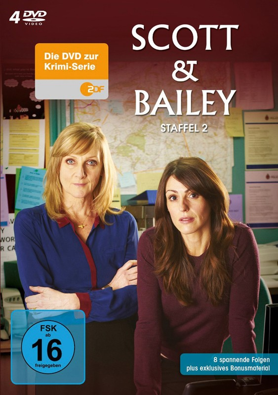DVD Film Scott & Bailey – Season 2 (Edel) im Test, Bild 1