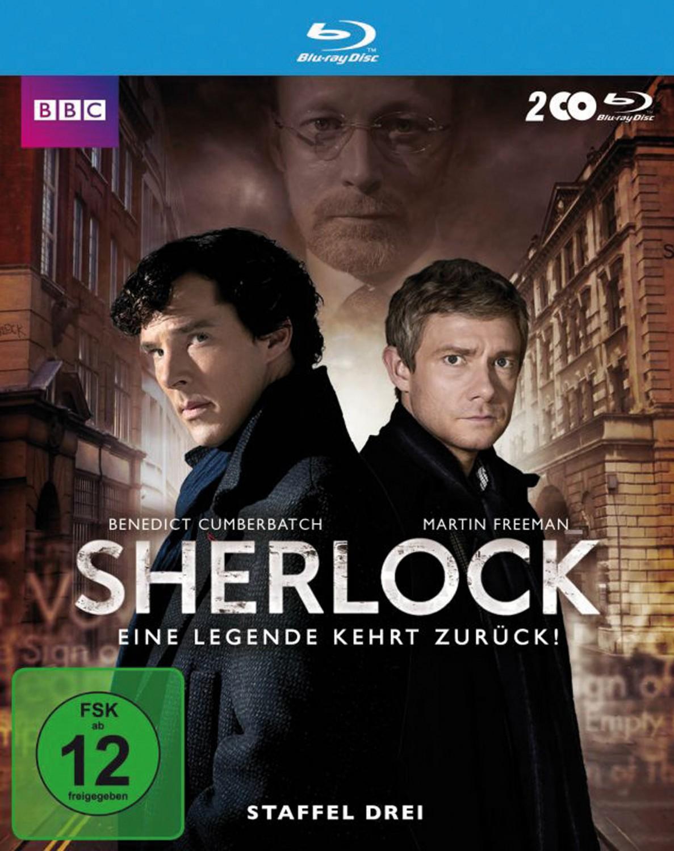 Blu-ray Film Sherlock S3 (Polyband) im Test, Bild 1