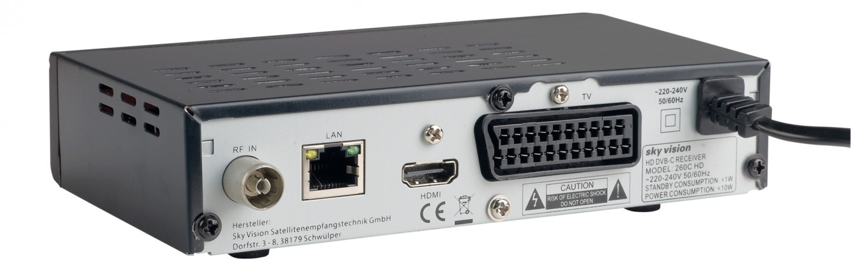 Kabel Receiver ohne Festplatte Sky Vision 260C HD im Test, Bild 2