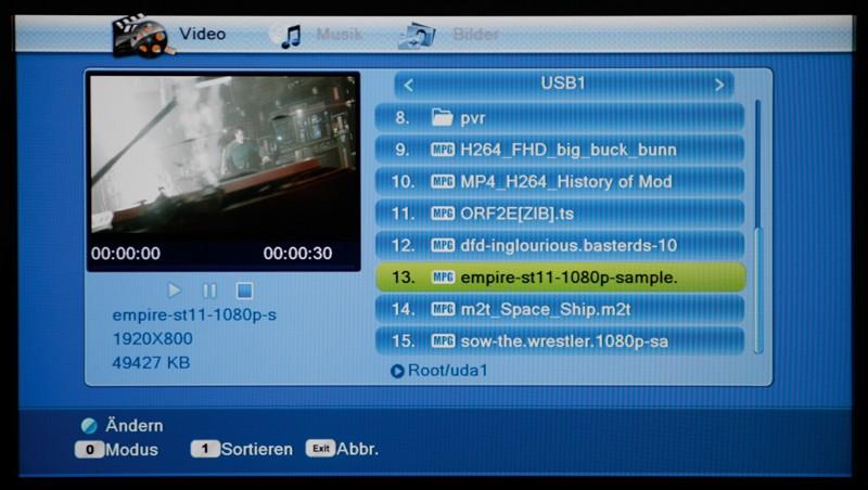 Sat Receiver ohne Festplatte Smart Joy HD im Test, Bild 5