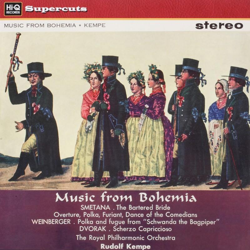 Schallplatte Smetana, Dvorak, Weinberger: Music from Bohemia Royal Philharmonic Orchestra, Rudolf Kempe (EMI/HiQ) im Test, Bild 1