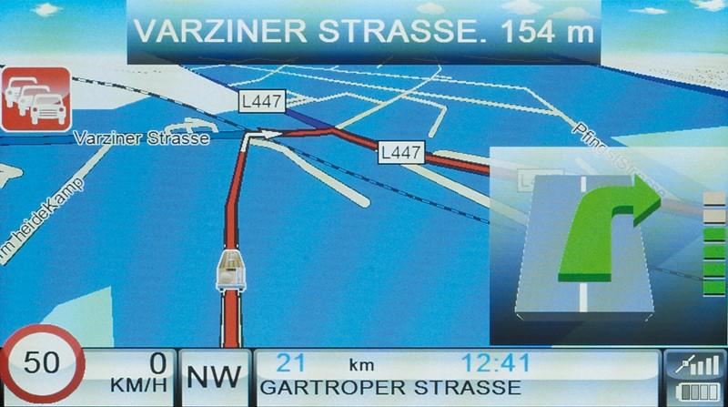 Portable Navigationssysteme Snooper VenturaPro DB8500 im Test, Bild 3