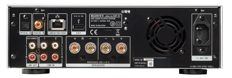 Musikserver Sony HAP-S1 im Test, Bild 2