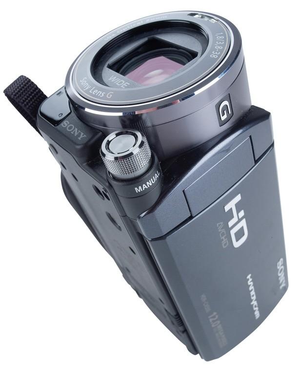 Camcorder Sony HDR-CX550 im Test, Bild 2