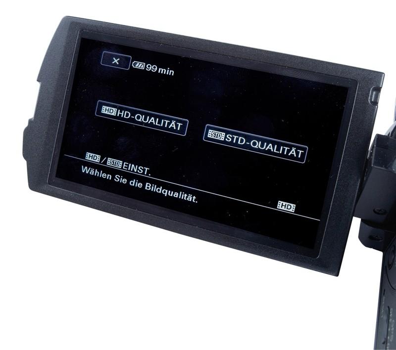 Camcorder Sony HDR-CX550 im Test, Bild 5