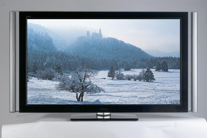 test fernseher sony kdl 55x4500 sehr gut. Black Bedroom Furniture Sets. Home Design Ideas