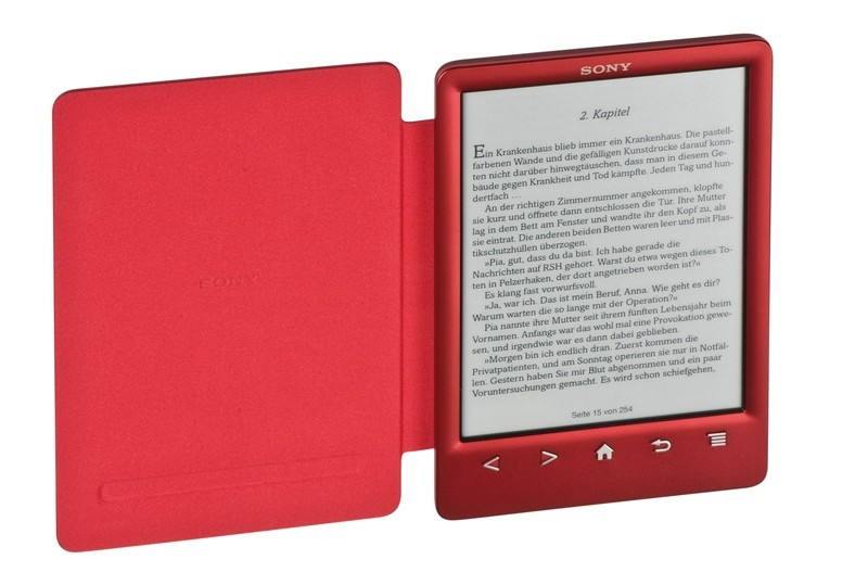 E-Book Reader Sony PRS-T3 im Test, Bild 1