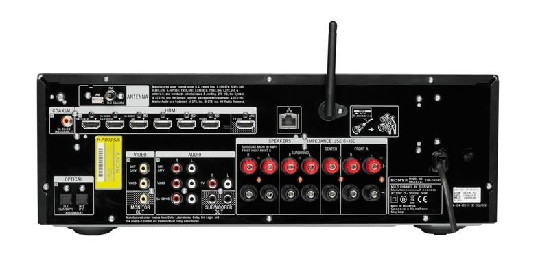 AV-Receiver Sony STR-DN840 im Test, Bild 2