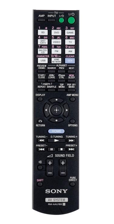 AV-Receiver Sony STR-DN840 im Test, Bild 3