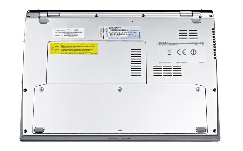 Notebooks und Ultrabooks Sony Vaio SV-T1311 im Test, Bild 5