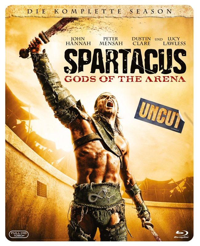 Blu-ray Film Spartacus: Gods of the Arena (Fox) im Test, Bild 1