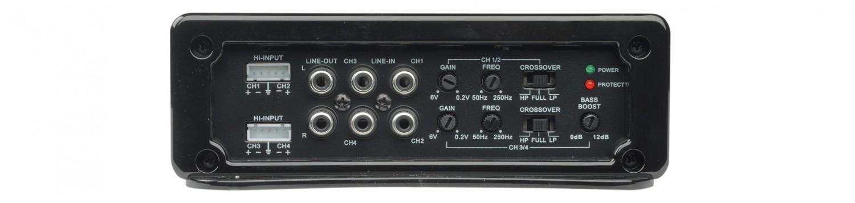 Car-HiFi Endstufe 4-Kanal Spectron SP-N4207 im Test, Bild 3