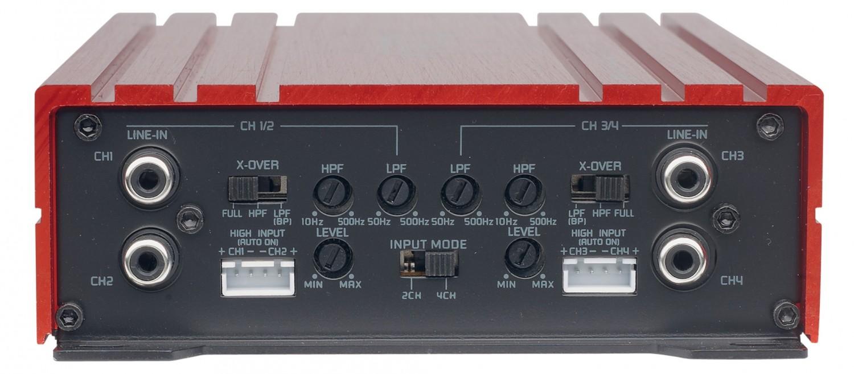 Car HiFi Endstufe Multikanal Spectron SP-N4400, Spectron SP-N5500 im Test , Bild 4
