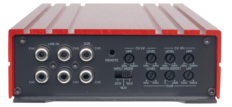 Car HiFi Endstufe Multikanal Spectron SP-N4400, Spectron SP-N5500 im Test , Bild 5