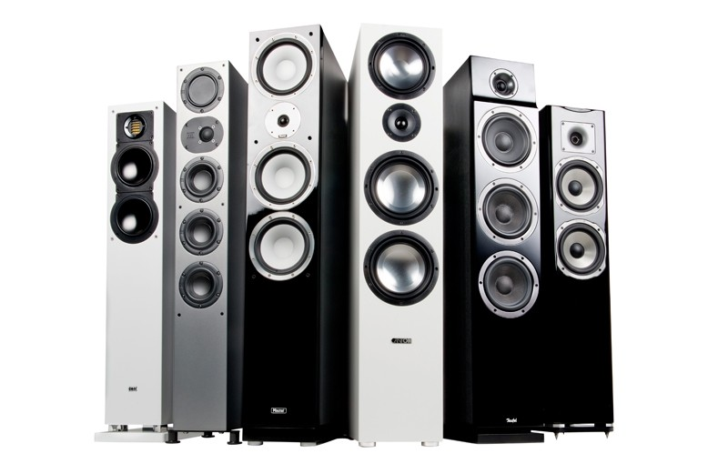 Lautsprecher Stereo: Standlautsprecher, Bild 1