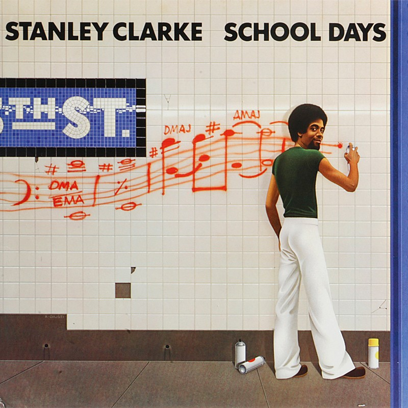 Schallplatte Stanley Clarke – School Days (Epic / Friday Music) im Test, Bild 1