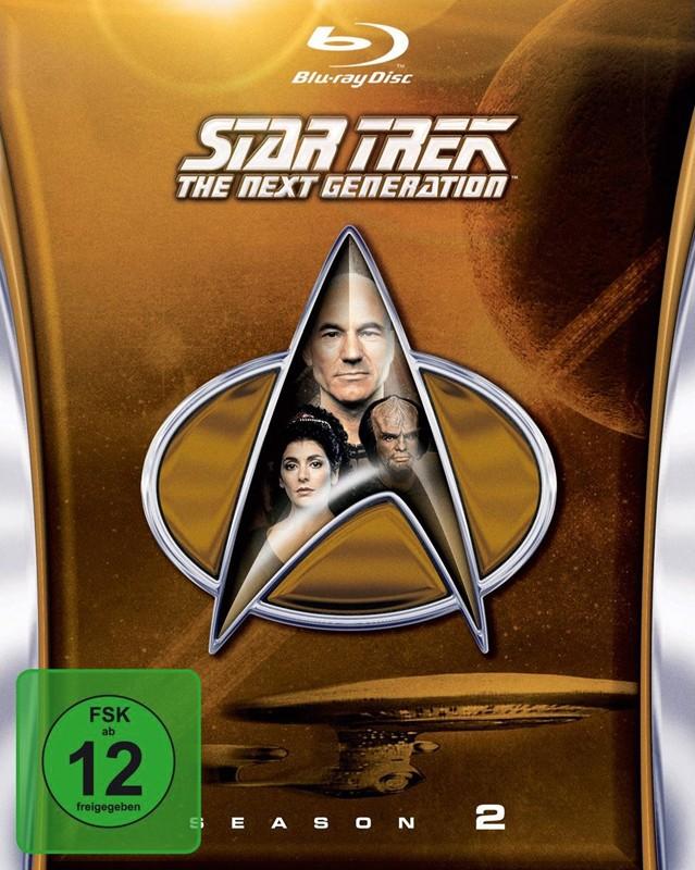 Blu-ray Film Star Trek TNG - Season 2 (Paramount) im Test, Bild 1