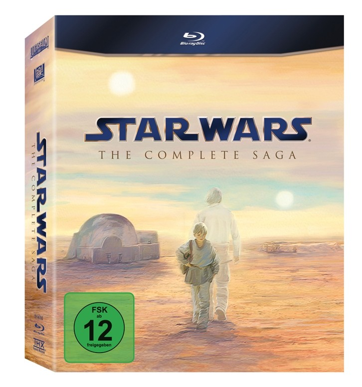 Blu-ray Film Star Wars: The Complete Saga (Fox) im Test, Bild 1