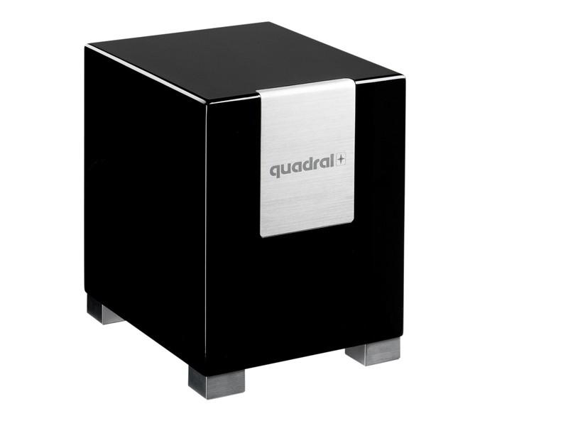 Subwoofer (Home) Quadral QUBE 8 im Test, Bild 1