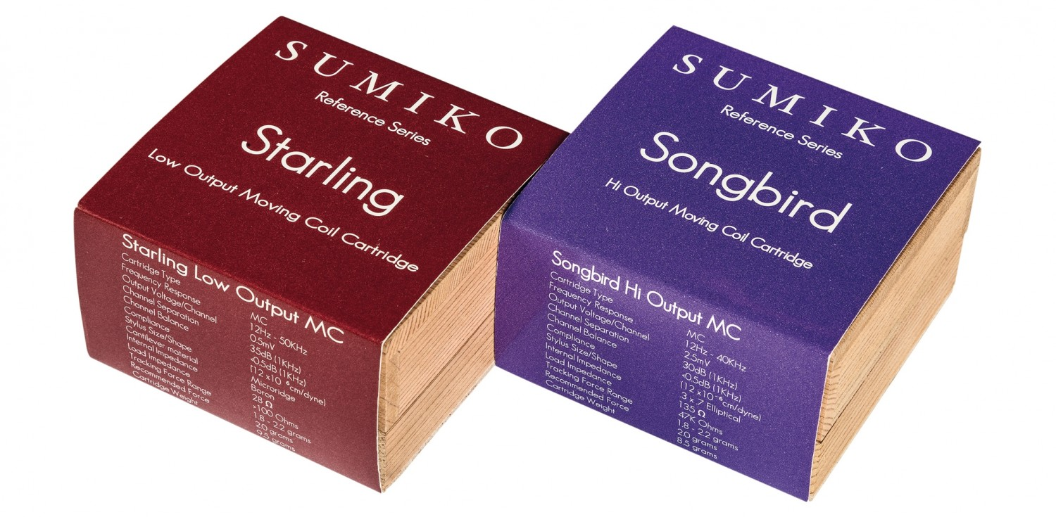 Tonabnehmer Sumiko Songbird (High-Output MC), Sumiko Starling (Low-Output MC) im Test , Bild 2