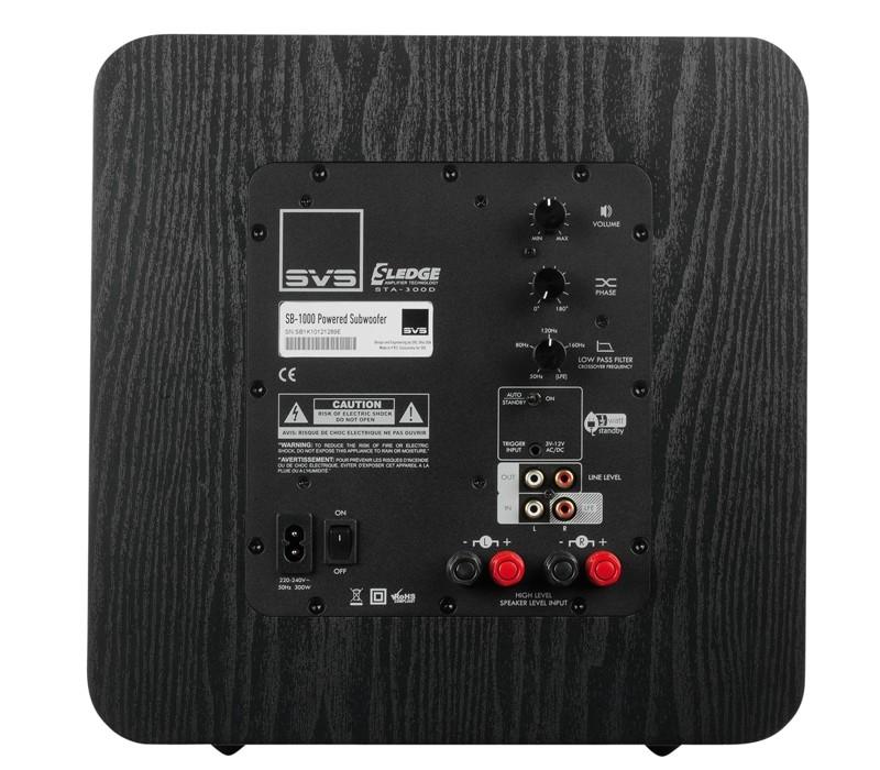 Subwoofer (Home) SV Sound SB-1000 im Test, Bild 2