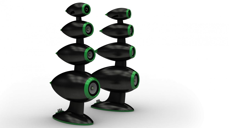 Lautsprecher Surround SW Speakers Magic Flute im Test, Bild 4