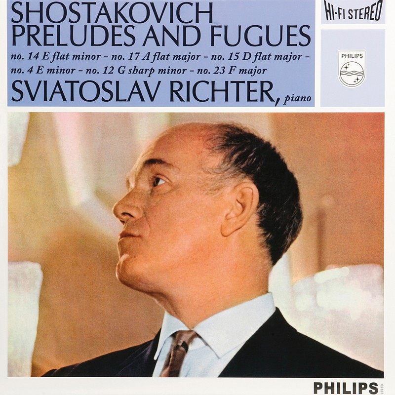 Schallplatte Swjatoslaw Richter – Schostakowitsch: Preludes and Fugues, Op. 87 (Philips) im Test, Bild 1
