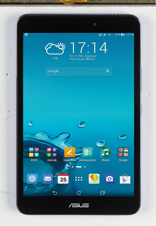 Tablets Asus MEMO Pad 8 im Test, Bild 1