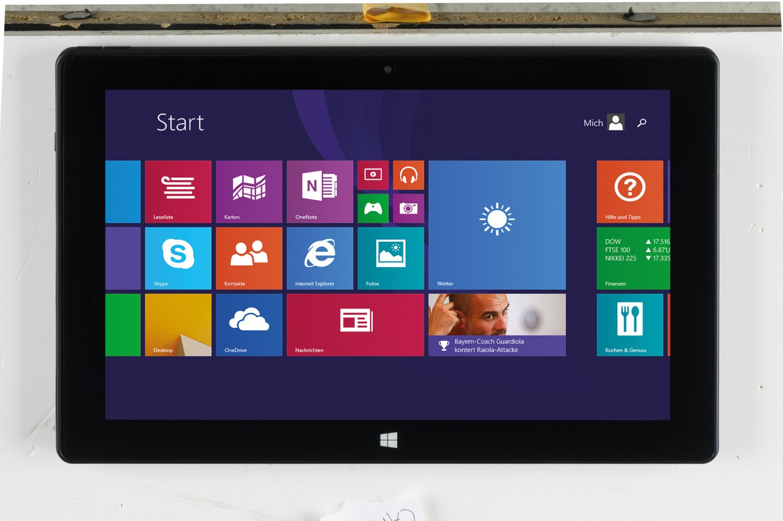 Tablets Captiva PAD 10.1 Windows HD/KB im Test, Bild 1